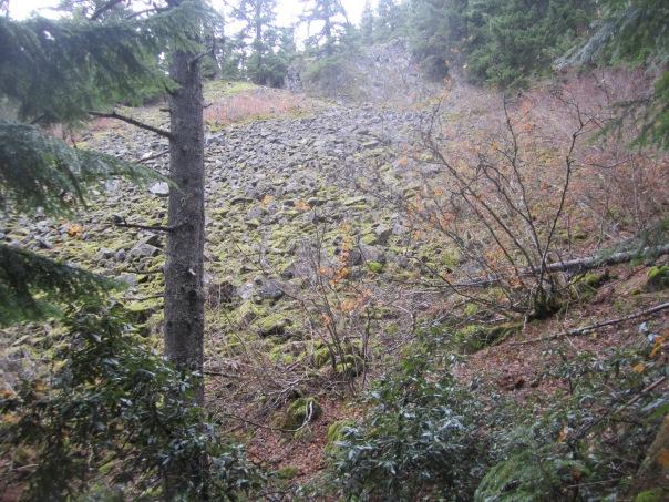 Rockslide views