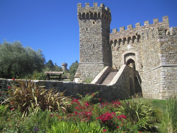 The castle was built over a 30 year period