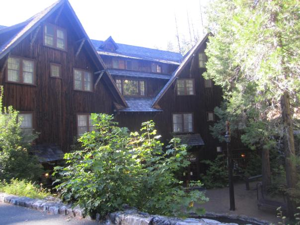The lodge at Oregon Caves National Monument