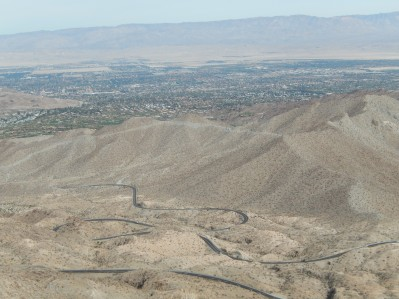 The long and winding road out of Palm Desert
