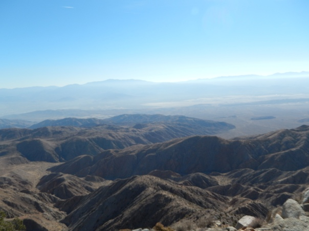 Looking towards Salton Sea, you can almost see forever