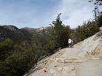 Headed uphill