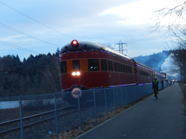 The tail end of the train was cool, too
