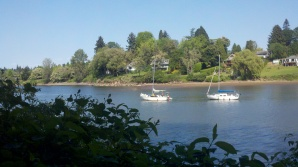 In perfect weather, sailboat living looked pretty nice