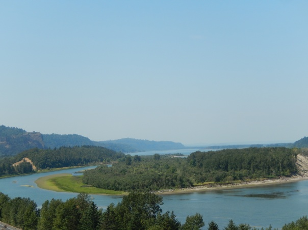 Sand Island in the Columbia