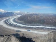 The famed Ruth Glacier