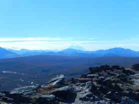 The view towards Denali
